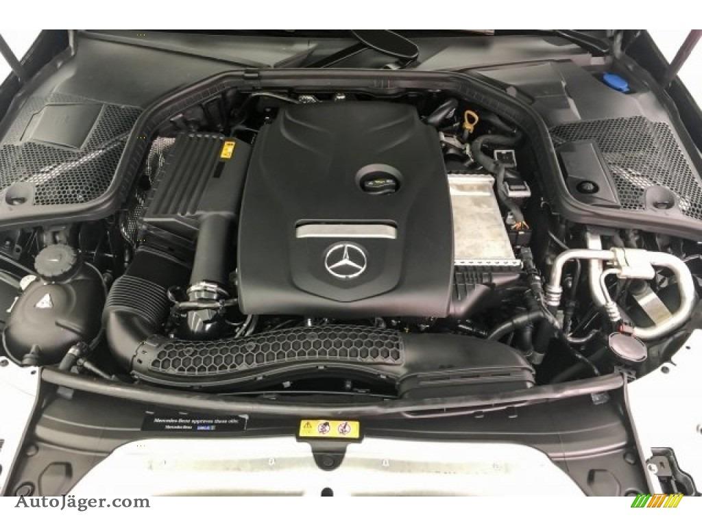 2018 C 300 Sedan - Black / Crystal Grey/Black photo #8