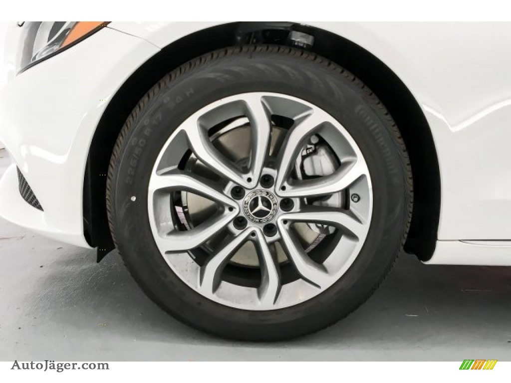 2018 C 300 Sedan - Polar White / Black photo #9