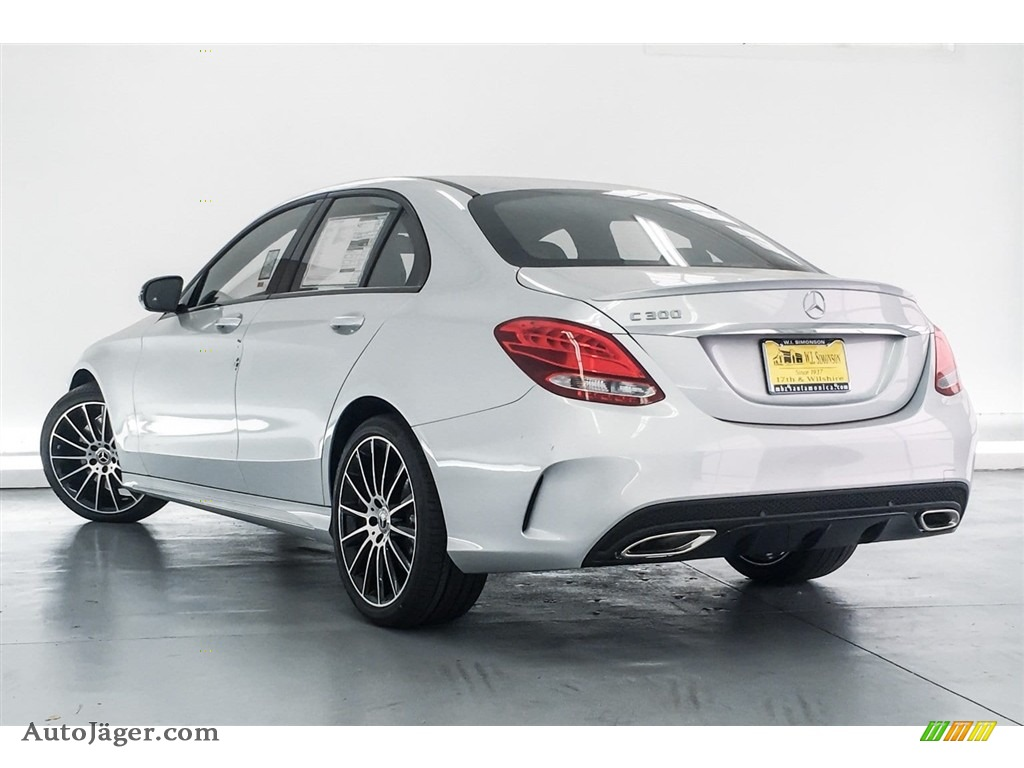 2018 C 300 Sedan - Iridium Silver Metallic / Black photo #3