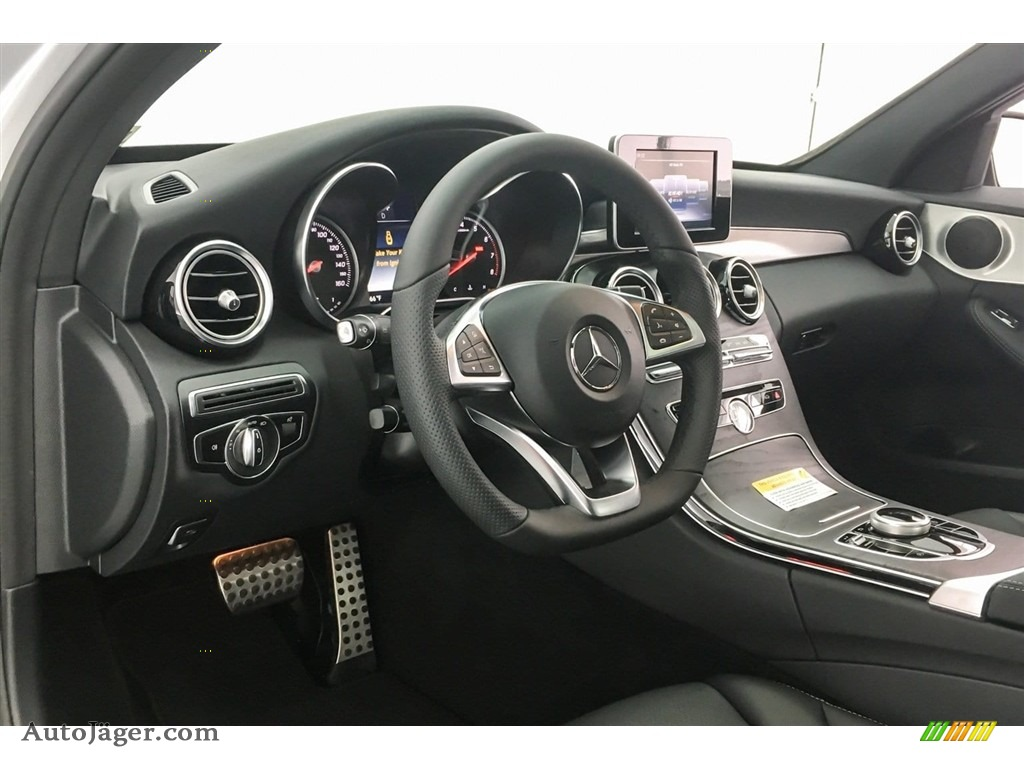 2018 C 300 Sedan - Iridium Silver Metallic / Black photo #5