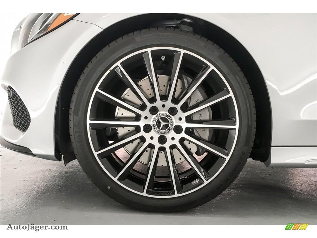 2018 C 300 Sedan - Iridium Silver Metallic / Black photo #9
