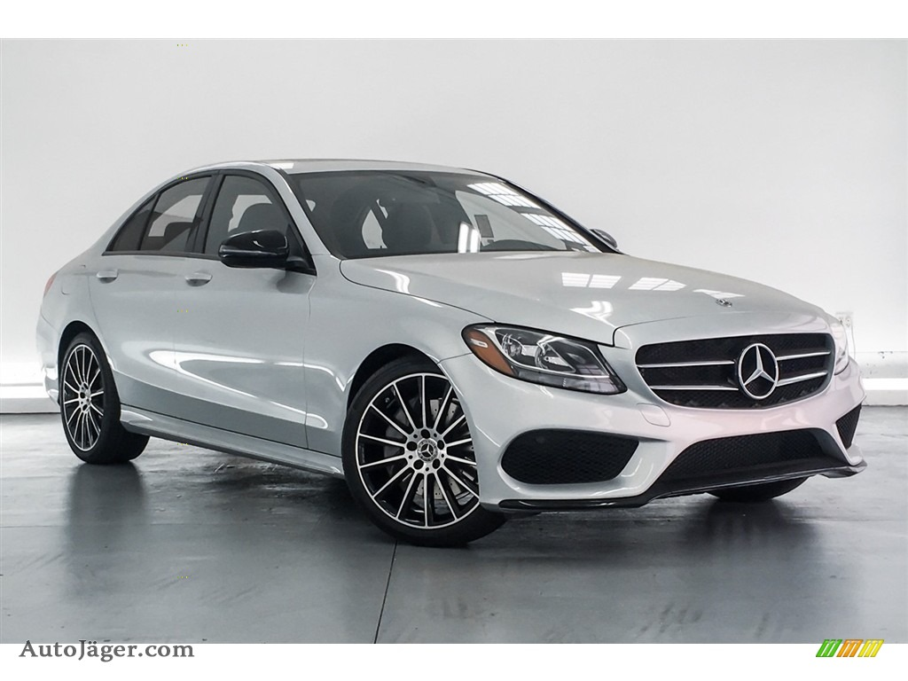 2018 C 300 Sedan - Iridium Silver Metallic / Black photo #12