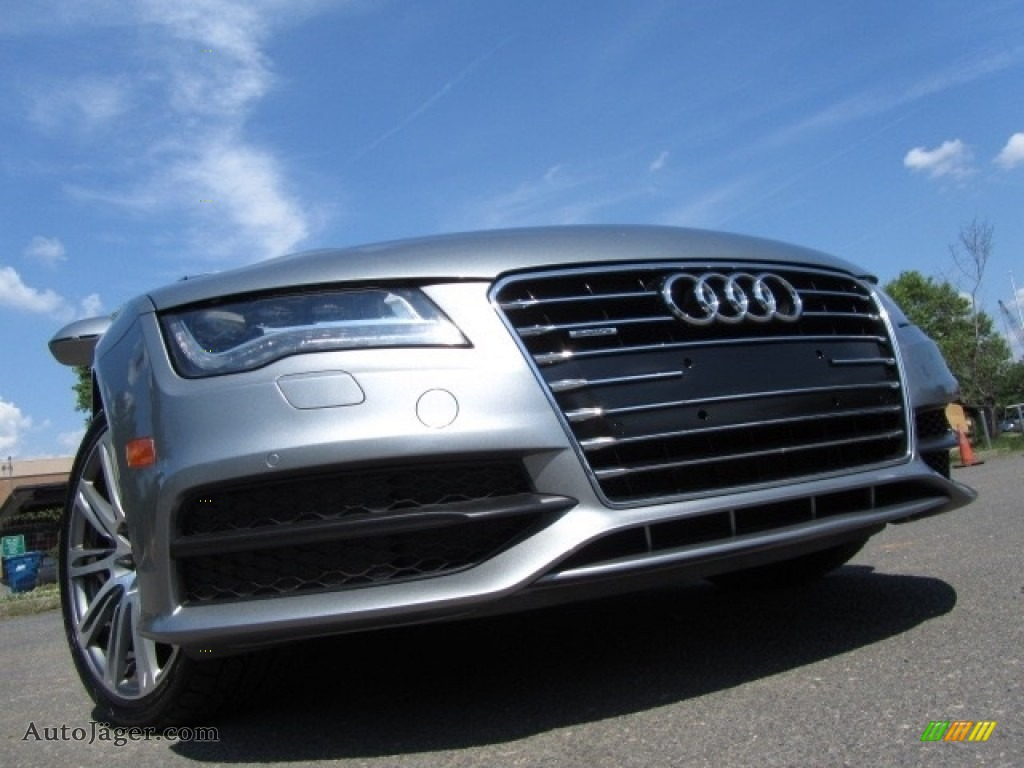 2013 A7 3.0T quattro Prestige - Quartz Gray Metallic / Nougat Brown photo #1
