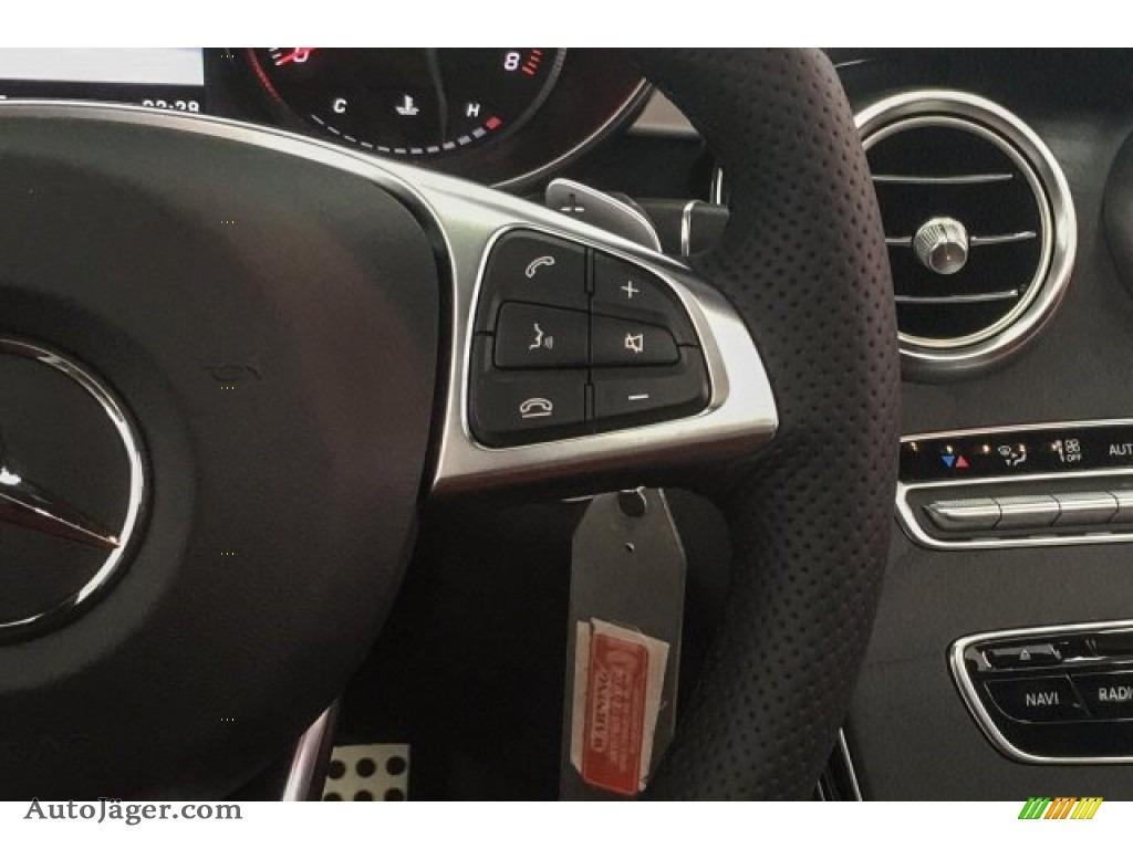 2018 C 300 Coupe - Polar White / Cranberry Red/Black photo #24