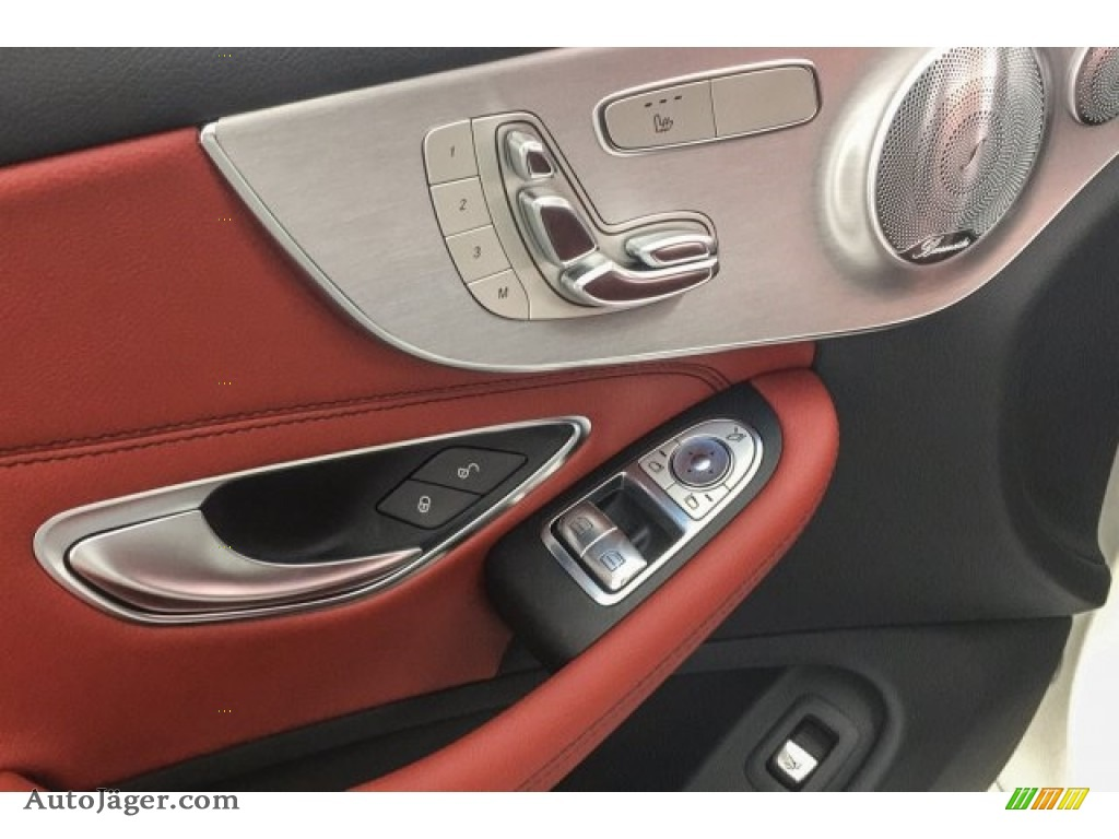 2018 C 300 Coupe - Polar White / Cranberry Red/Black photo #28