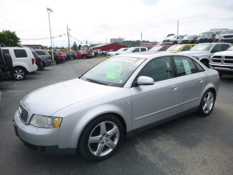 Light Silver Metallic 2002 Audi A4 3.0 quattro Sedan
