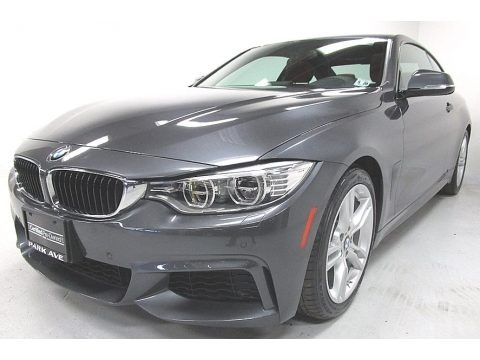 Mineral Grey Metallic 2015 BMW 4 Series 435i Coupe