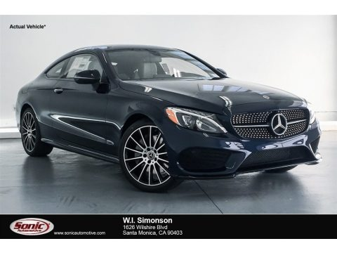 Lunar Blue Metallic 2018 Mercedes-Benz C 300 Coupe