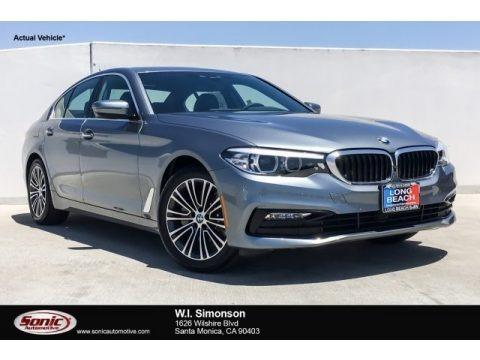 Bluestone Metallic 2018 BMW 5 Series 530i Sedan