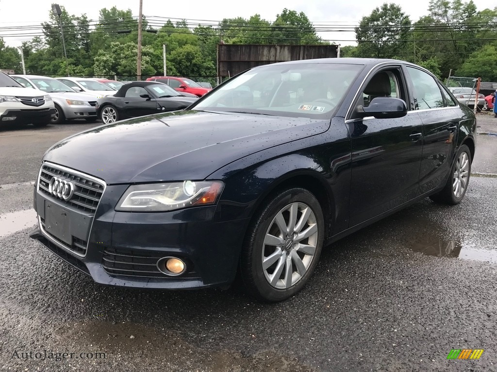 2011 A4 2.0T quattro Sedan - Brilliant Black / Black photo #2