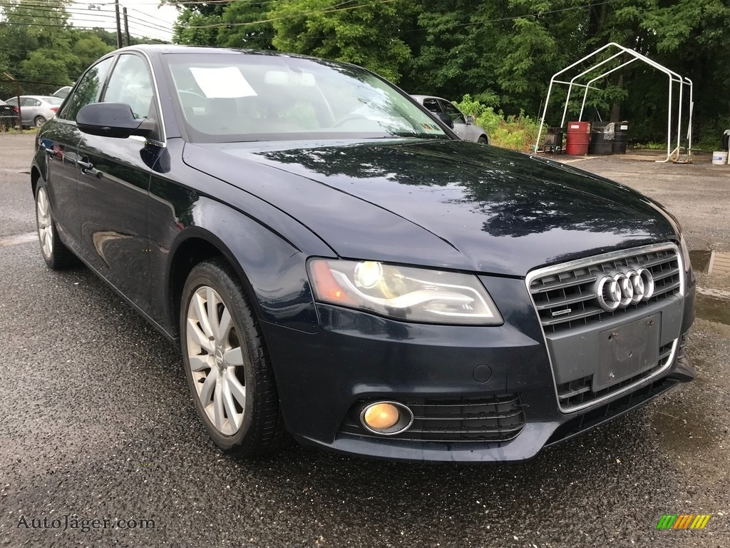 2011 A4 2.0T quattro Sedan - Brilliant Black / Black photo #10