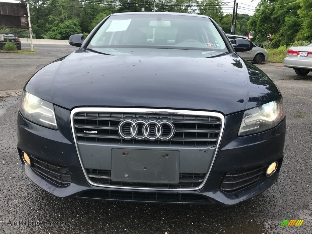 2011 A4 2.0T quattro Sedan - Brilliant Black / Black photo #11