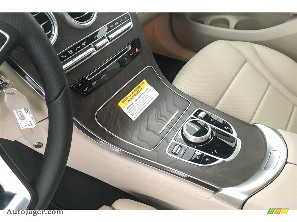 2018 GLC 300 - Polar White / Silk Beige/Espresso Brown photo #7