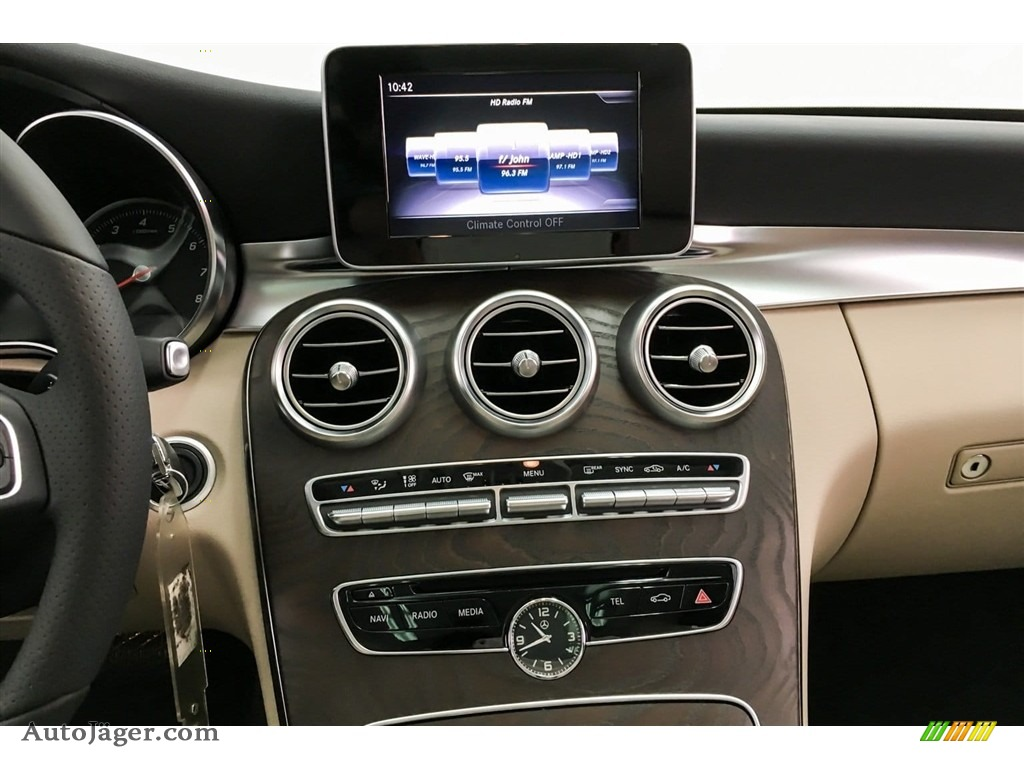 2018 C 300 Sedan - Lunar Blue Metallic / Silk Beige/Black photo #6