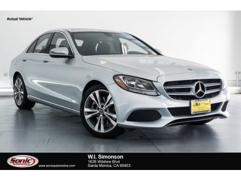 Iridium Silver Metallic 2018 Mercedes-Benz C 300 Sedan