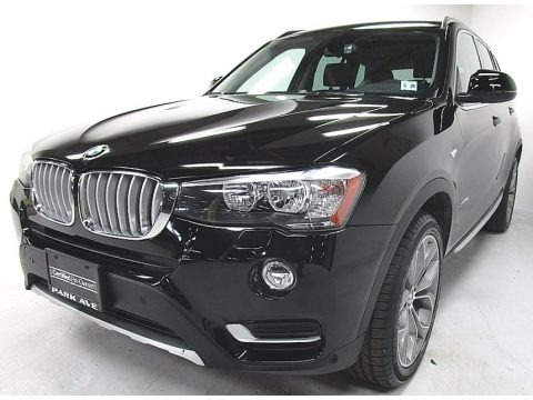 Jet Black 2015 BMW X3 xDrive28i