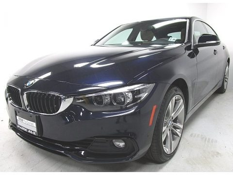 Imperial Blue Metallic 2018 BMW 4 Series 430i xDrive Gran Coupe