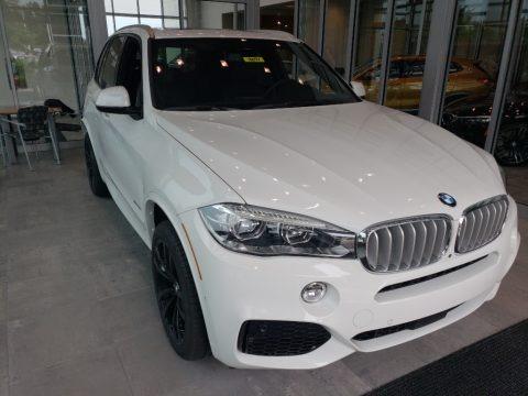 Alpine White 2018 BMW X5 xDrive50i