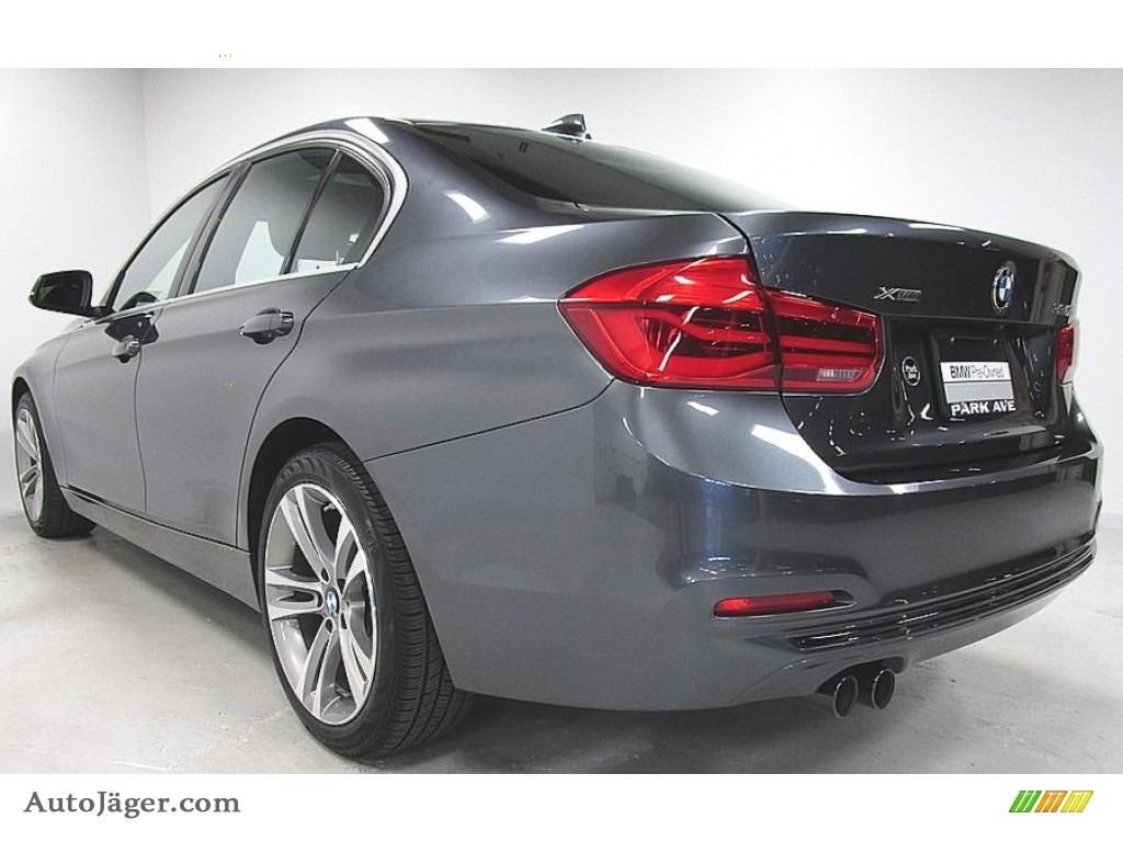 2018 3 Series 330i xDrive Sedan - Mineral Grey Metallic / Black photo #3