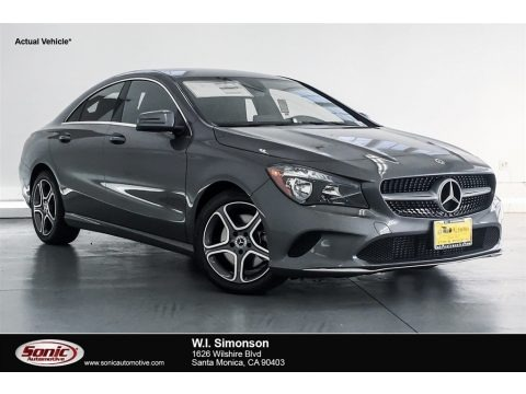 Mountain Grey Metallic 2018 Mercedes-Benz CLA 250 Coupe