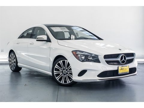 Polar White 2018 Mercedes-Benz CLA 250 Coupe