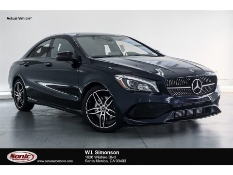 Lunar Blue Metallic 2018 Mercedes-Benz CLA 250 Coupe