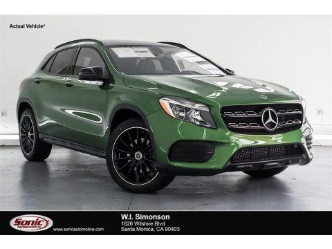 Kryptonite Green Metallic 2018 Mercedes-Benz GLA 250