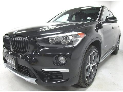 Black Sapphire Metallic 2018 BMW X1 xDrive28i