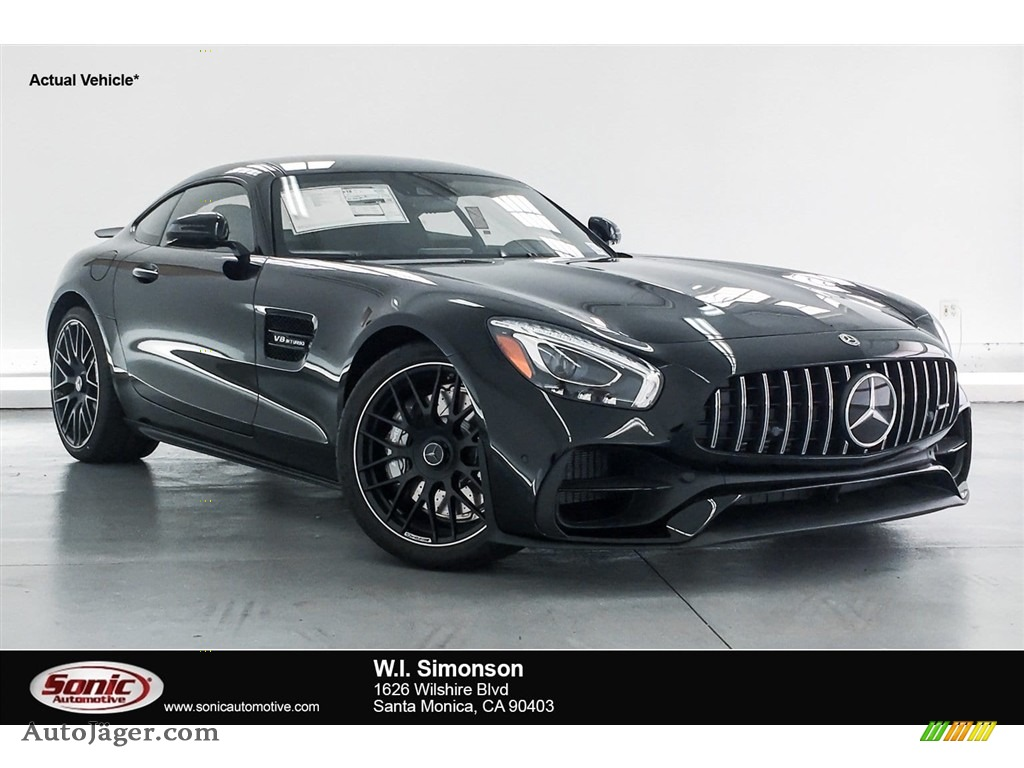 2018 AMG GT Coupe - Black / Black photo #1