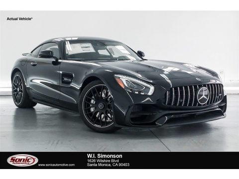 Black 2018 Mercedes-Benz AMG GT Coupe