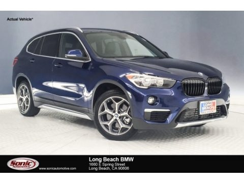 Mediterranean Blue Metallic 2018 BMW X1 xDrive28i