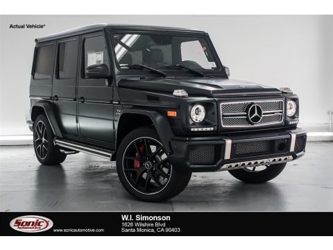 designo Night Black Magno (Matte) 2018 Mercedes-Benz G 65 AMG