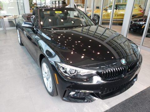 Black Sapphire Metallic 2019 BMW 4 Series 430i xDrive Convertible