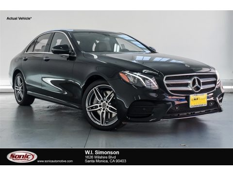 Black 2018 Mercedes-Benz E 300 4Matic Sedan