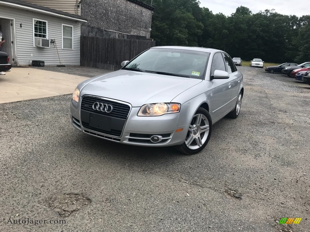 Light Silver Metallic / Ebony Audi A4 2.0T quattro Sedan