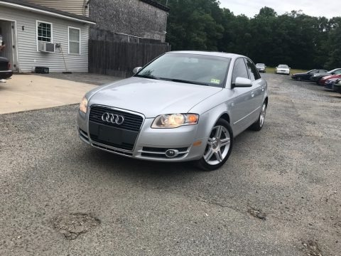 Light Silver Metallic 2007 Audi A4 2.0T quattro Sedan