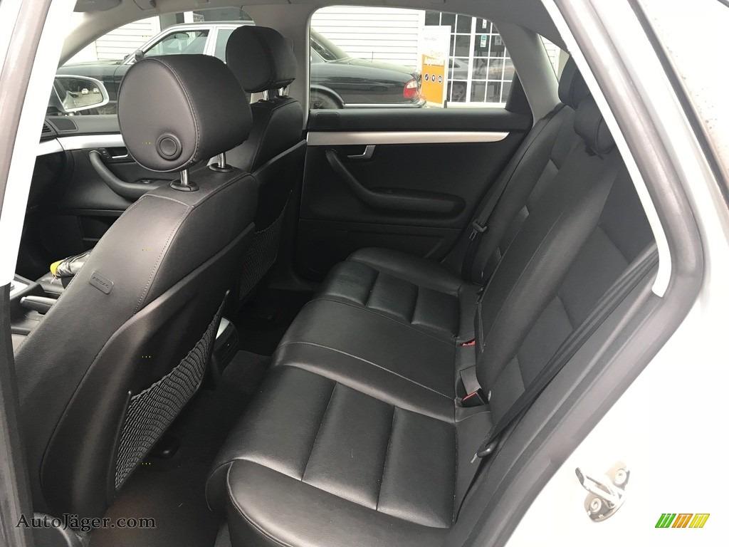 2007 A4 2.0T quattro Sedan - Light Silver Metallic / Ebony photo #16