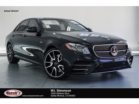 Black 2018 Mercedes-Benz E 43 AMG 4Matic Sedan