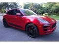 Porsche Macan GTS Carmine Red photo #8