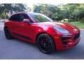 Porsche Macan GTS Carmine Red photo #8
