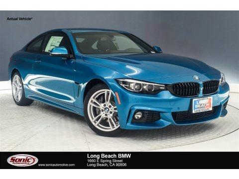 Snapper Rocks Blue Metallic 2019 BMW 4 Series 430i Coupe