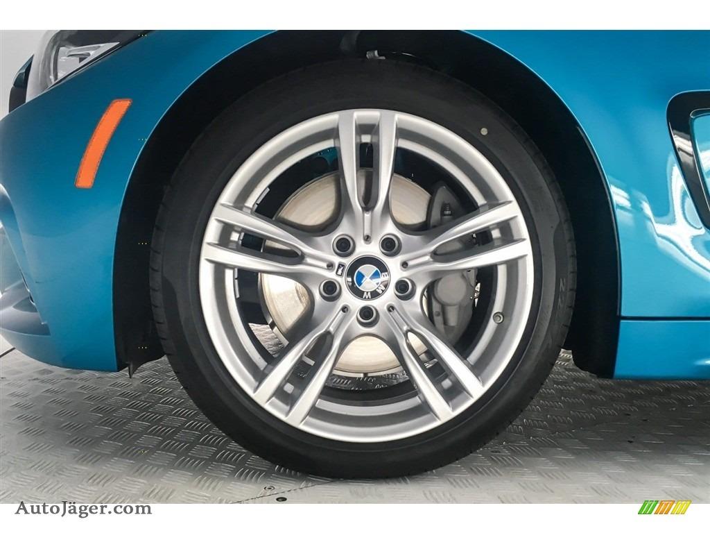 2019 4 Series 430i Coupe - Snapper Rocks Blue Metallic / Black photo #9