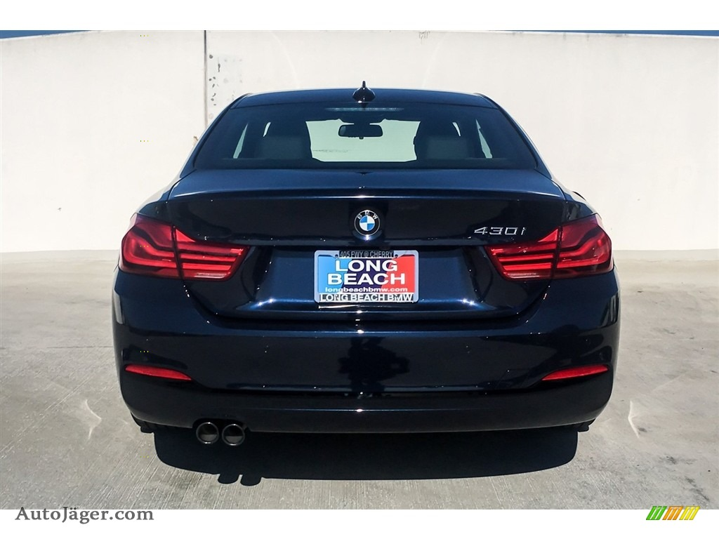2019 4 Series 430i Coupe - Imperial Blue Metallic / Black photo #4