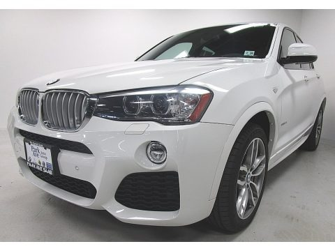 Alpine White 2015 BMW X4 xDrive28i