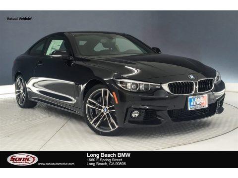 Black Sapphire Metallic 2019 BMW 4 Series 440i Coupe