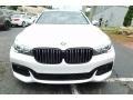 BMW 7 Series 740i xDrive Sedan Mineral White Metallic photo #7