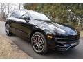 Porsche Macan Turbo Black photo #1