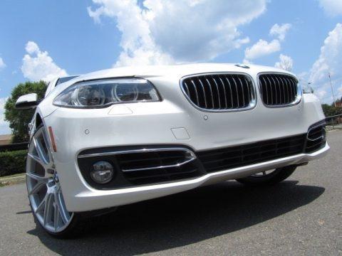 Mineral White Metallic 2014 BMW 5 Series 535i Sedan