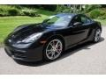Porsche 718 Cayman S Black photo #3