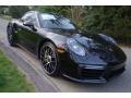Porsche 911 Turbo S Coupe Black photo #1